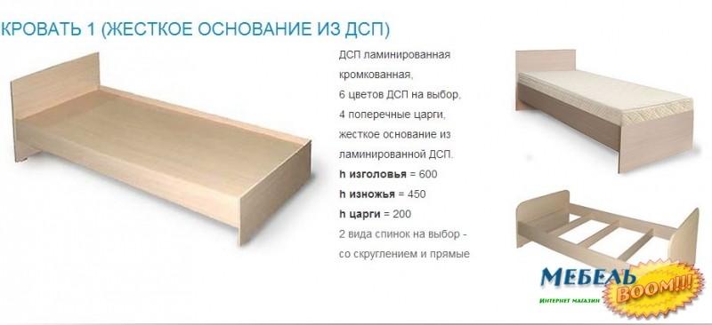 Проект кровати из лдсп своими руками