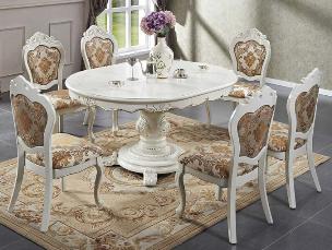 Стол и стулья - классический стиль