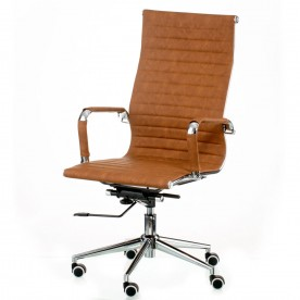 Кресло офисное TPRO- Solano artleather light-brown E5777