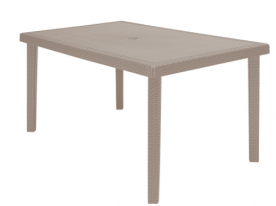 Стол из полипропилена GRANDSOLEIL CA- RECTANGULAR TABLE BOHEME