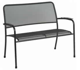Софа металлическая Alexander Rose TEA- PORTOFINO BENCH 1.14M
