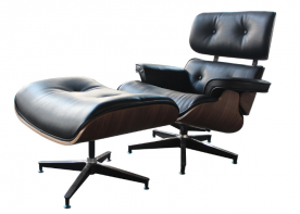 Кресло Cool- Eames lounge chair с оттоманкой