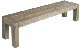 Лавка из дерева Alexander Rose TEA- ACACIA DISTRESSED BENCH 1.78M