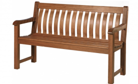 Лавка из дерева Alexander Rose TEA- CORNIS ST GEORGE BENCH 1.5M