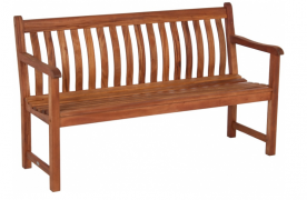 Лавка из дерева Alexander Rose TEA-  CORNIS ST GEORGE BENCH 1.2M