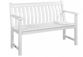 Лавка Alexander Rose TEA- WHITE PAINTED BROADFIELD BENCH 1.2M