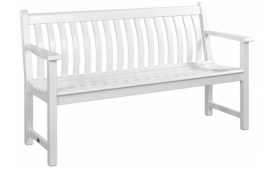 Лавка Alexander Rose TEA- WHITE PAINTED BROADFIELD BENCH 1.5M