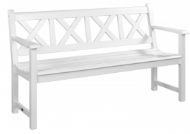 Лавка Alexander Rose TEA- WHITE PAINTED DRACHMANN BENCH 1.5M