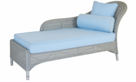 Лаунж диван Alexander Rose TEA- CLASSIC Chaise Lounge (w/ Cushions)