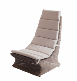 Стул из техноротанга Alexander Rose TEA- SAN MARINO LAZY CHAIR